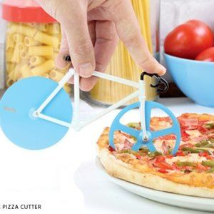 The Fixie BLUE Pizza Cutter